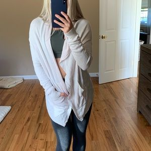 Lululemon Reversible Wrap Sweater